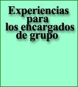 Experiencias para los encargados de grupo